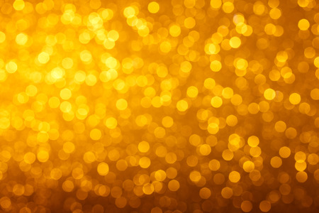 modern background: Warm glowing bright golden lights bokeh background