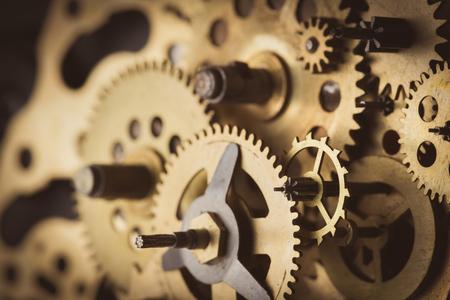 cooperacion: Engranajes y ruedas dentadas macro