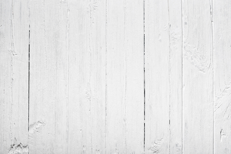 Old white painted wood texture background