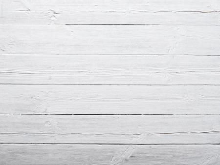 estructura: Blanco pintado de fondo textura de la madera Foto de archivo
