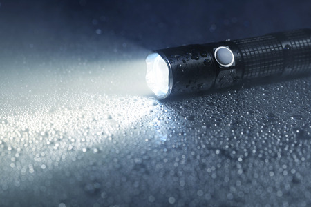 waterproof: Waterproof flashlight