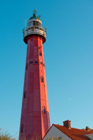 Lighthouse in Scheveningen, Netherlands Editorial