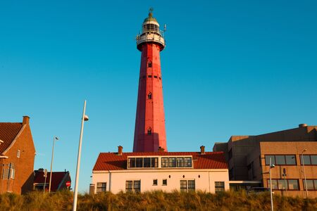 Scheveningen Lighthouse in Netherlands