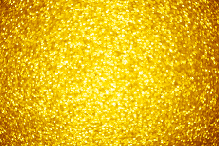 shiny background: Shiny glitter gold bokeh background Stock Photo