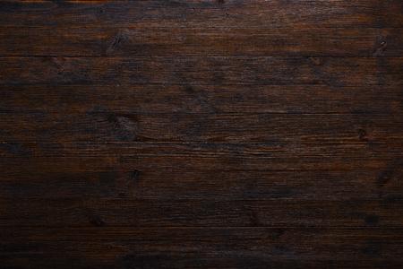 Dark drewna stół teksturę tła widok z góry