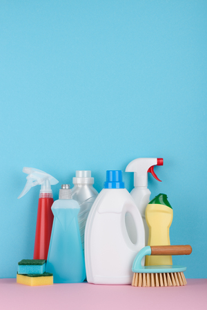 Cleaning service concept wit space for text.