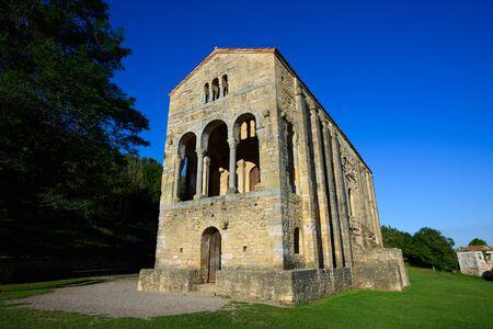 Church Santa Maria del Naranco, Asturias, Spain
