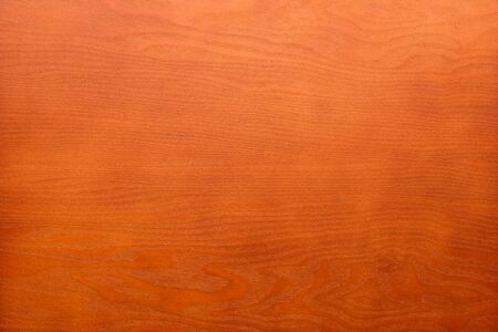 Veener wood texture background surface bright flat cherry colored