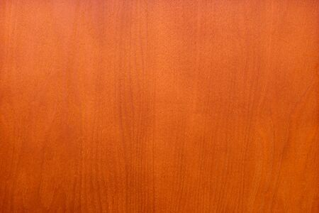 Smooth even veener wood texture background surface cherry colored