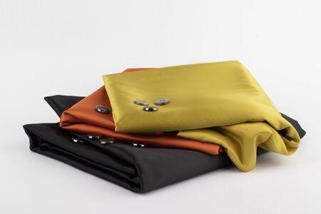 Silk and buttons 免版税图像