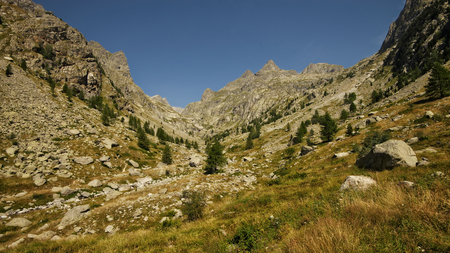 maritimes: Montains of the estrop, the park of Mercantour, department of the Alpes-Maritimes, France