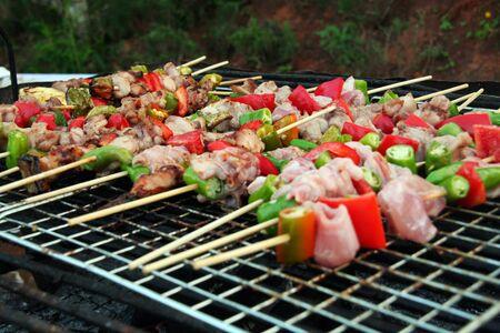 flavorsome: barbecue Stock Photo