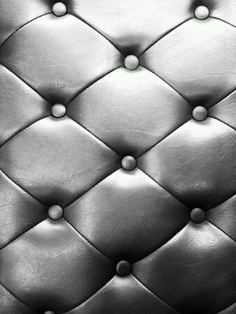 leather chair: Texture of a leather chair Stock Photo
