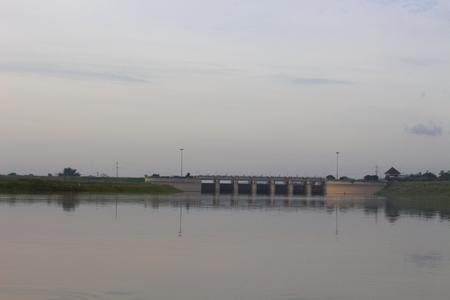 longest: pasak jolasid dam concrete lopburi thailand