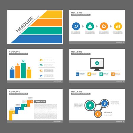 roadmap: 4 colorful multipurpose infographic presentation templates flat design set for brochure flyer marketing advertising