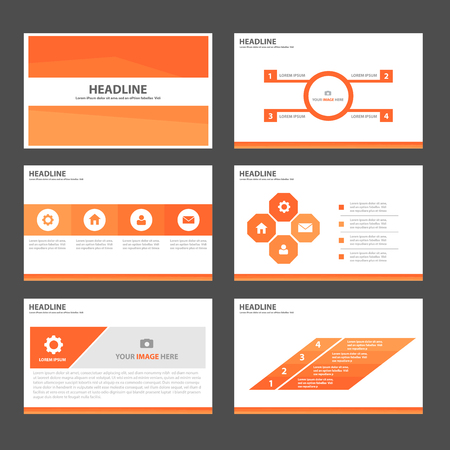 Powerpoint template stock photos royalty free powerpoint template orange multipurpose infographic elements and icon presentation template flat design set for advertising marketing brochure flyer toneelgroepblik Gallery