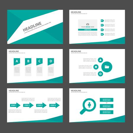 poster backgrounds: Green Multipurpose Infographic elements and icon presentation template flat design set for advertising marketing brochure flyer leaflet