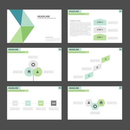 poster business: Green blue Multipurpose Infographic elements and icon presentation template flat design set for advertising marketing brochure flyer leaflet