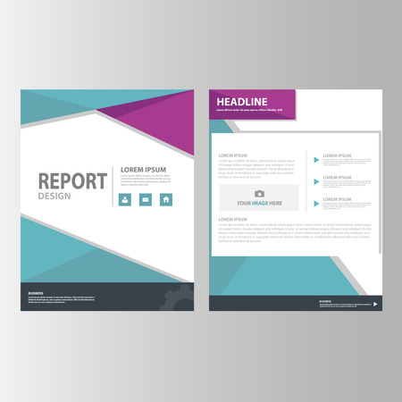 flyer background: Purple and blue black Annual report Multipurpose Infographic elements and icon presentation template flat design set for advertising marketing brochure flyer leaflet Illustration