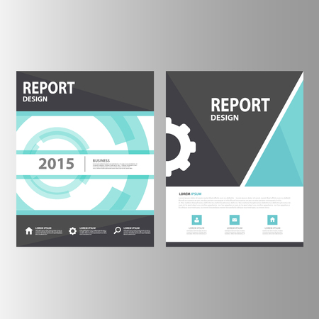 Black blue technology Annual report Multipurpose Infographic elements and icon presentation template flat design set for advertising marketing brochure flyer leaflet