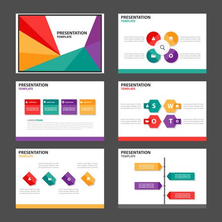 roadmap: Colorful business Multipurpose Infographic elements and icon presentation template flat design set for advertising marketing brochure flyer leaflet