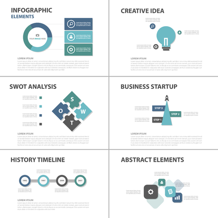 roadmap: Blue and green business Multipurpose Infographic elements and icon presentation template flat design set for advertising marketing brochure flyer leaflet