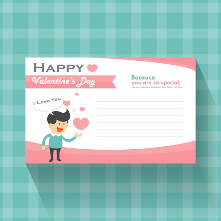 cheerful cartoon: day, valentines, valentine, love, background, design, happy, card, heart, vector, decoration, beautiful, romantic, illustration, decorative, retro, banner, art, wedding, holiday, abstract, mothers, label, greeting, romance, boy, man, smile, happiness, pat