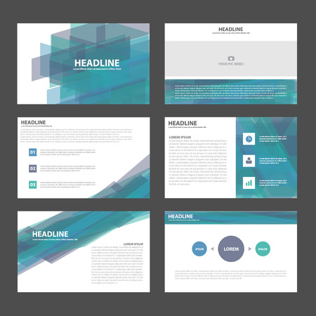 Blue purple presentation templates Infographic elements flat design set for brochure flyer leaflet marketing advertising