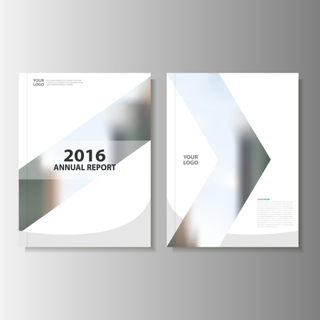 Grey Vector annual report Leaflet Brochure Flyer template design, book cover layout design, Abstract grey presentation templates