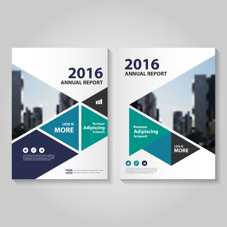 magazine layout: Elegance Green blue black purple annual report Leaflet Brochure template design, book cover layout design, Abstract green blue green black presentation templates Illustration