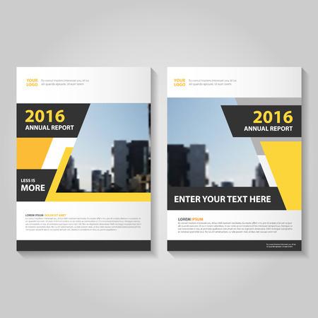 Informe anual Folleto Folleto de diseño de la plantilla azul, diseño de diseño de la portada del libro, plantillas de presentación abstracta azul Ilustración de vector