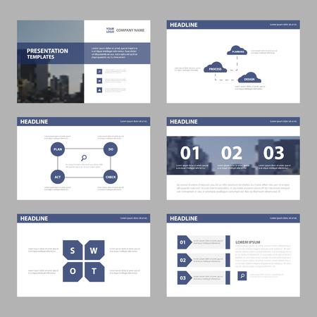 Violet Abstract presentation templates, Infographic elements template flat design set for brochure flyer leaflet marketing advertising banner template
