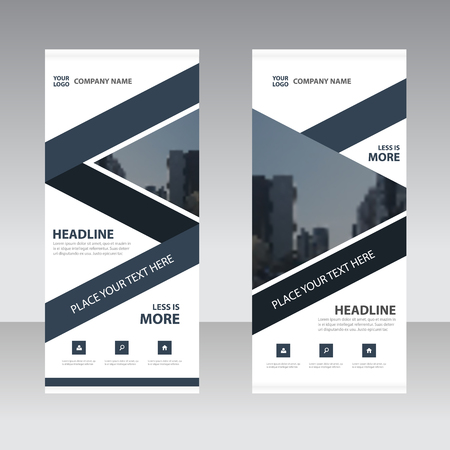 advertisements: Business Roll Up Banner flat design template ,Abstract Geometric banner template Vector illustration set, abstract presentation template Illustration