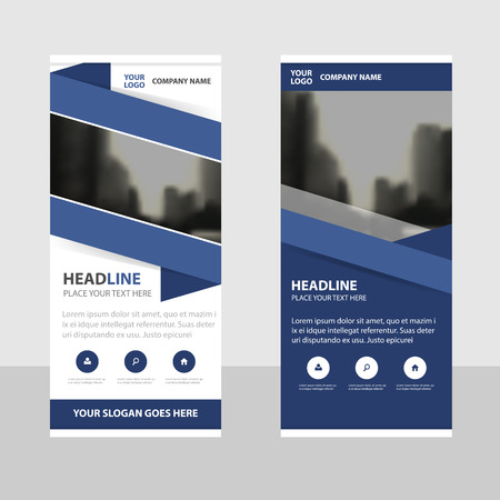 roll up: Purple triangle Business Roll Up Banner flat design template ,Abstract Geometric banner template Vector illustration set, abstract presentation brochure flyer template vertical template vector