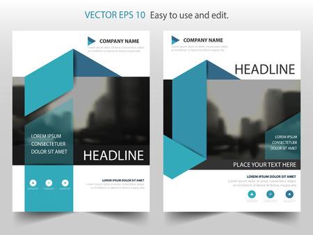 brochure cover design: Blue label Vector Brochure annual report Leaflet Flyer template design, book cover layout design, abstract business presentation template, a4 size design Illustration