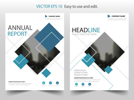 Blue black label Vector Brochure annual report Leaflet Flyer template design, book cover layout design, abstract business presentation template, a4 size design