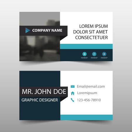 website header: Corporate business card. Illustration