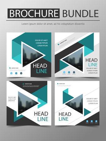Annual report Brochure design template vector. Business Flyers infographic magazine poster.Abstract layout template ,Book Cover presentation portfolio. 向量圖像