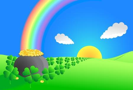 Illustration vectorielle pour Saint Patrick's Day
