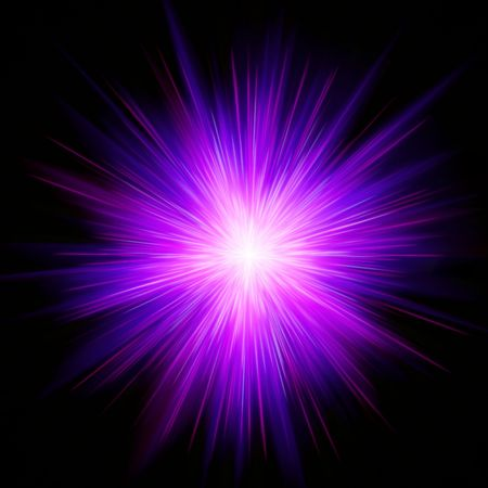 Magenta star burst Stock Photo - 5090529