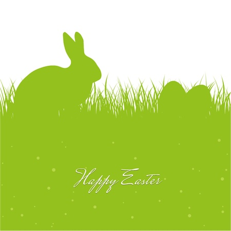 Easter greeting card Illustration