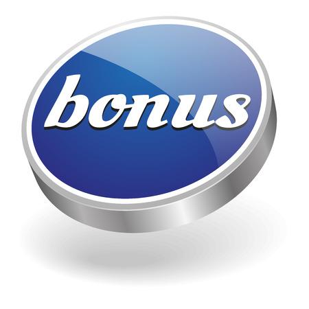 discounting: Blue silver bonus button