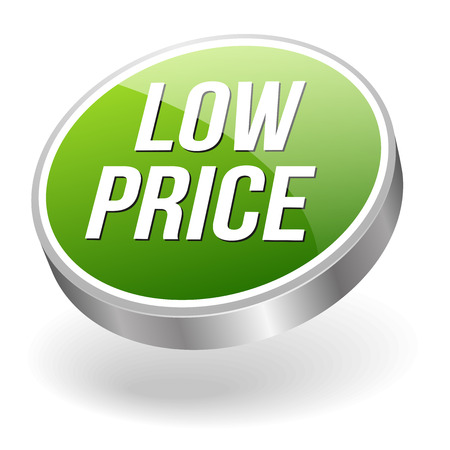 lowest: Green silver low price button