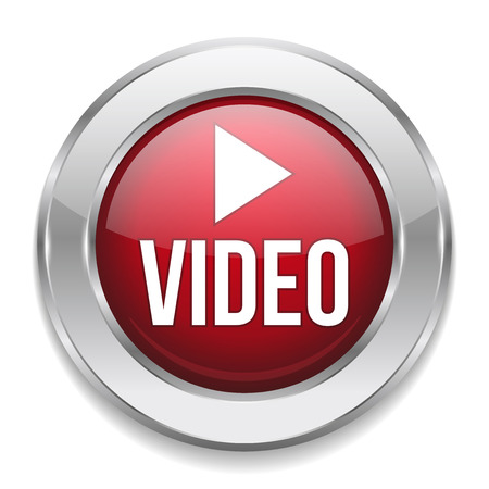 Red silver video button