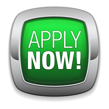 apply: Rounded green apply now button