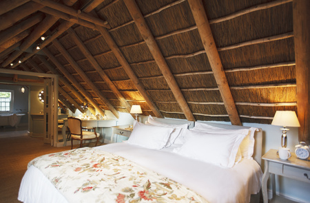 attic: Luxury attic bedroom