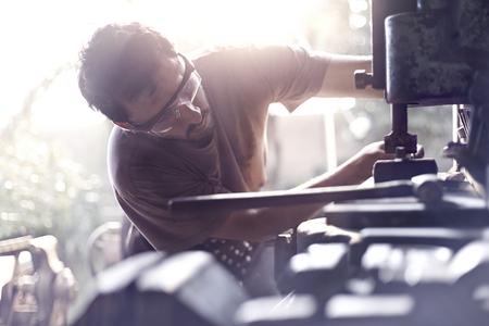 vise grip: Blacksmith using vise grip in forge