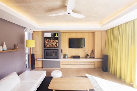 woodburner: Home showcase living room