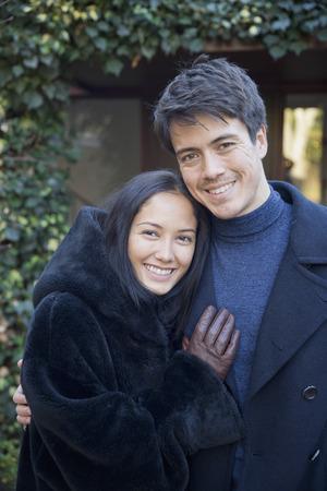 Portrait happy couple LANG_EVOIMAGES