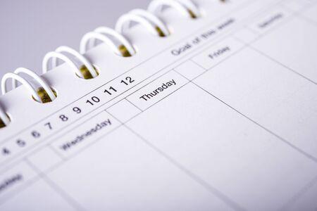 scheduler: scheduler Stock Photo
